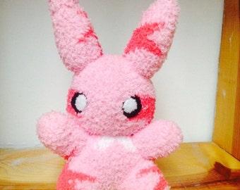 Star Bunny sock plush