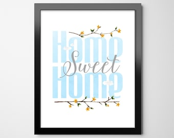Summer Home Sweet Home | INSTANT DOWNLOAD | Home Decor Printable | Summer Printable Art | Printable