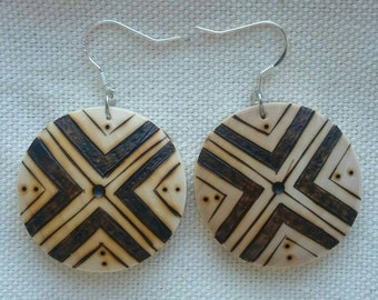 Here&Now - Weightles Wooden Earrings