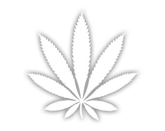 Weed decal
