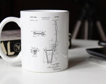 Vibrato Tailpiece Patent Mug, PP1122
