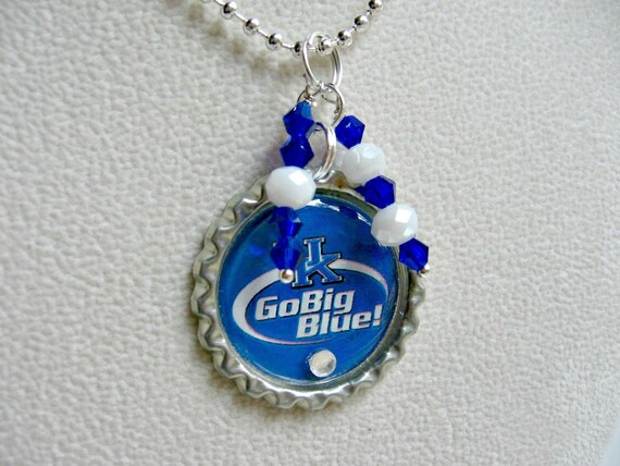 of kentucky wildcats necklace by