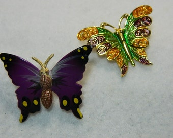 Colorful Butterfly Pins