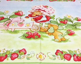 Strawberry Shortcake Panel 23549 SPX Patchwork Quilting Fabric