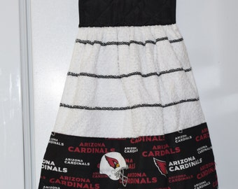 NFL Cardinals  Team Hand Towel  Double with Potholder