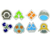 ON SALE Pokemon Badges Gen 4 - Sinnoh League
