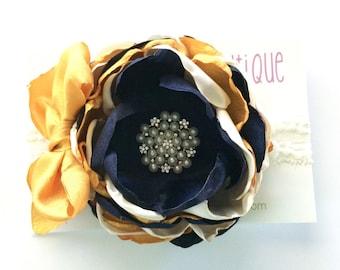 Couture headband, baby headband, newborn headband, photo props, headbands