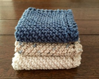 knitted washcloth, spa set, face washcloth, gift for her, facial care, cotton washcloth, baby washcloth, gift for teen, makeup cloth,gym rag