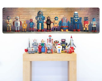 Space Robot Usual Suspects Wall Decal - #59574