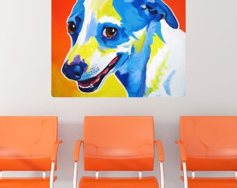 Skippy Jack Russell Terrier Dog Wall Decal - #59943