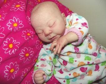 Preemie Reborn  Girl Kaelin (Denise Pratt Sculpt)
