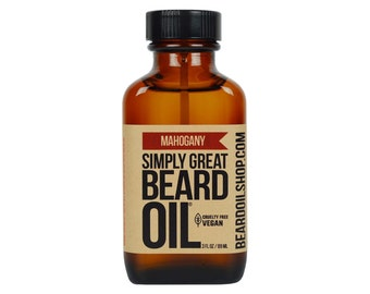 Beard Oil MAHOGANY by Simply Great