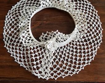 Vintage Crochet Collar  #11