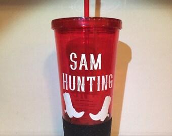 Sam Hunt-ing 20 oz tumbler