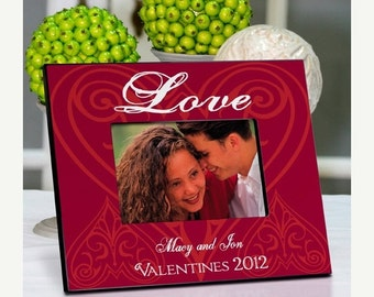 Personalized Couples Frames - Couples Picture Frame (963)