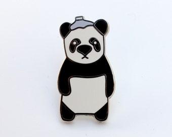 Migraine Panda Pin