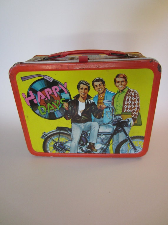 1976 Happy Days Lunchbox w/o Thermos