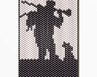 After the Hunt Bead banner pattern