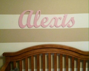 custom wooden name sign wall decor wall letters wooden sign kids baby name sign wooden letters baby name letters kids room decor large