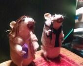 Big lebowski taxidermy mice
