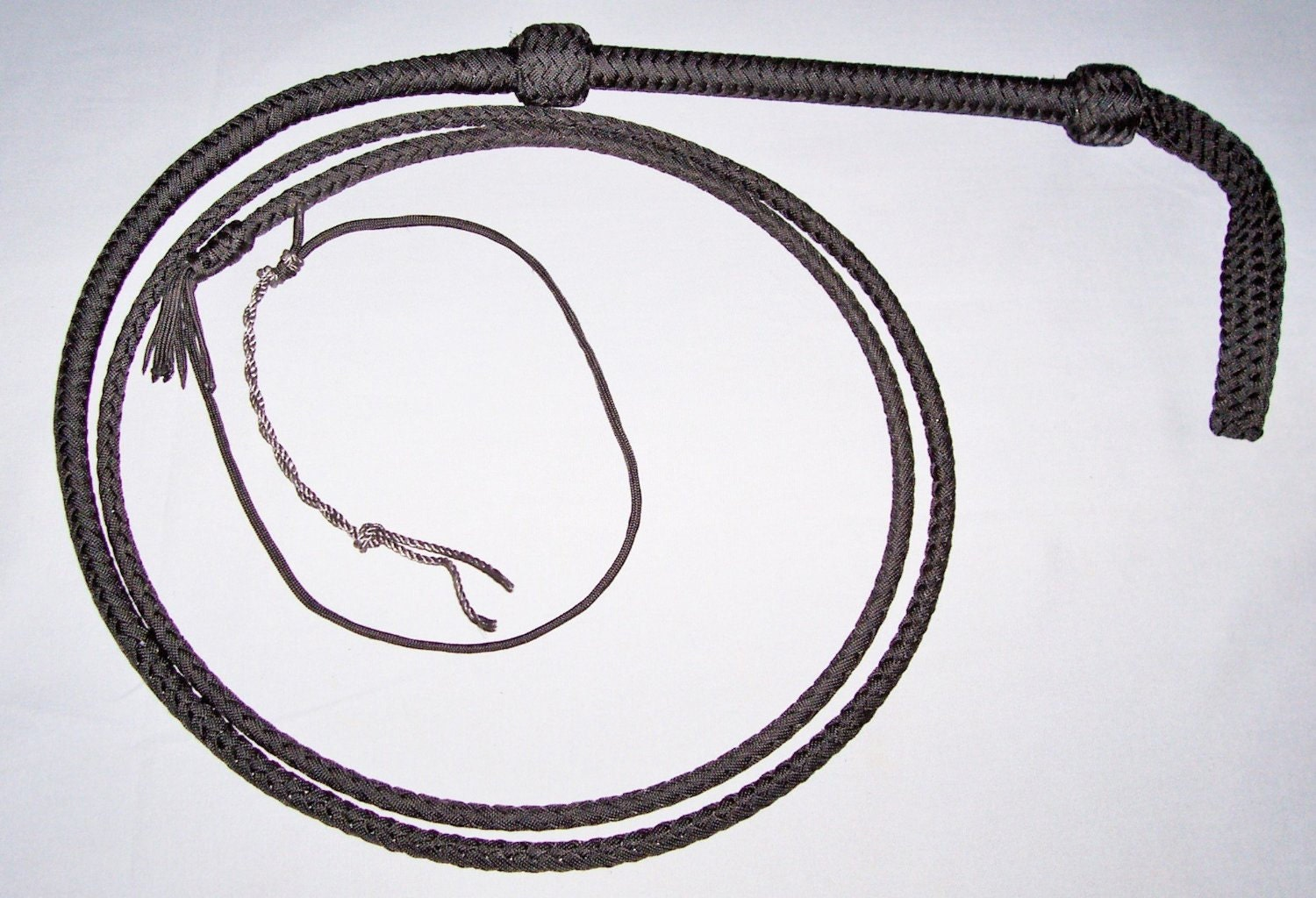 Amazzoni Nylon bull whip that