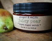 Juicy Pear Vegan Sugar Scrub - Juicy Pear - Juicy Pear Scrub - Vegan Scrub - Sugar Scrub - Body Polish