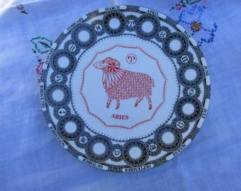 Zodiac Plate - Royal Doulton - Aries