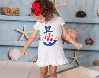 Minnie Anchor Monogram