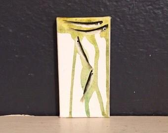 Minnow Painting