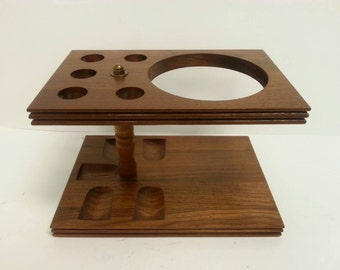 Free Shipping!! 5 Place Pipe Stand Holder