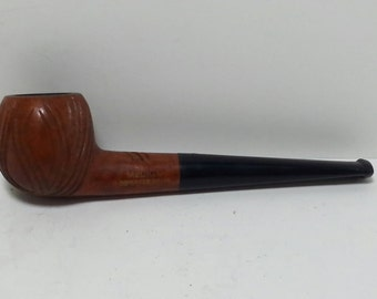 Free Shipping!! Medico Imported Briar Smoking Pipe Carved Bowl