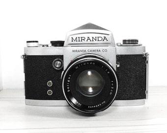 Miranda F -  with 50mm 1.9 Soligor lens - vintage SLR camera - Film Photography