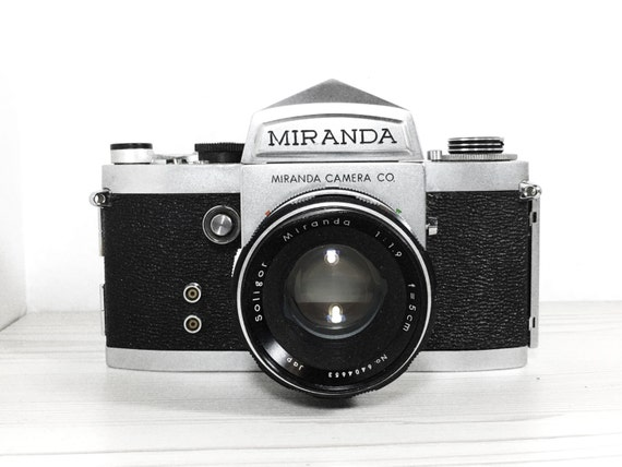 Miranda F -  with 50mm 1.9 Soligor lens - vintage SLR camera - Film Photography