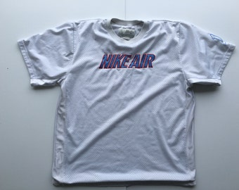 Nike Air Mesh Jersey 90s Cloud Rap Young Lean Style XL Hip Hop