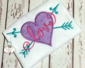 Love shirt or bodysuit, Love valentine Shirt, Love shirt, Valentine's Day, Valentine Shirt, Girl Valentine Shirt, Love with Arrows Shirt