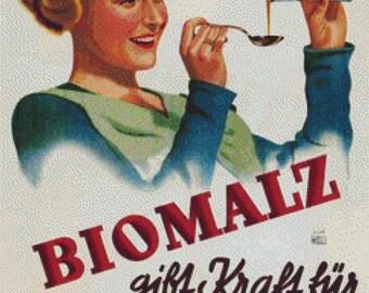 Biomalz PDF Cross Stitch Pattern