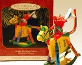 1997 Hallmark Crayola Ornament Bright Rocking Colors