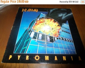 Save 30% Today Vintage 1983 Vinyl LP Record Def Leppard Pyromania Very Good Condition 3652