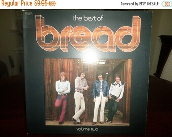 Save 30% Today Vintage 1974 Vinyl LP Record The Best of Bread Volume Two Near Mint Condition 5104