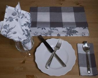 Napkins - Hand-made Cotton - Set of 4