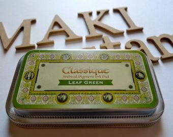 Ink Pad Tsukineko Classique Leaf Green (140026)