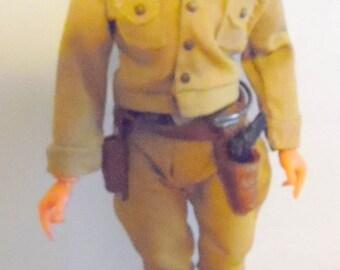 Gi Joe with original clothing, boots and helmet