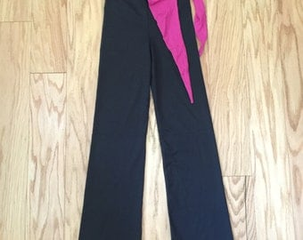 Be Up XS Serenity Black/Pink Yoga Pants