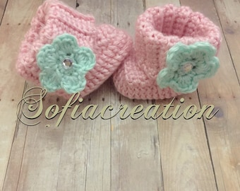 Baby girl boots -baby girl shoes-baby girl-girl shoes-baby shoes-
