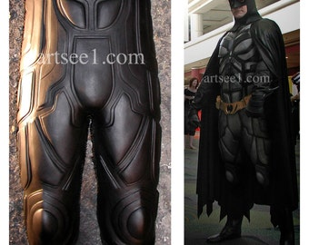 Your Batman Costume Suit Could Use An Upgrade The Dark Knight Legs Facade