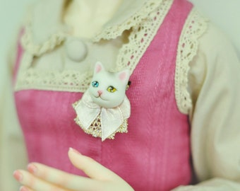Maskcatdoll Resin Cat Pins for SD/MSD size