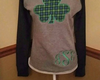 High low shamrock top