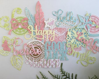 Die Cut Embellishment Kit