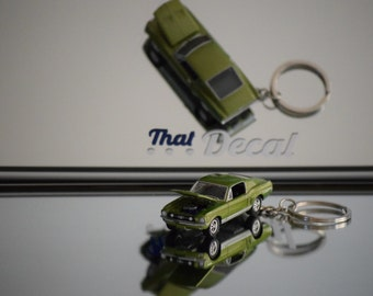 1967 Ford Mustang GT Keychain 1/64