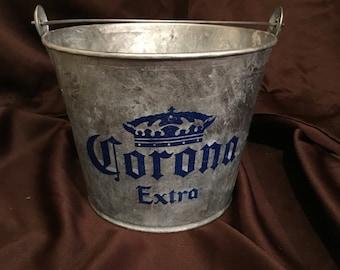 Corona Extra Galvanized Metal Bucket